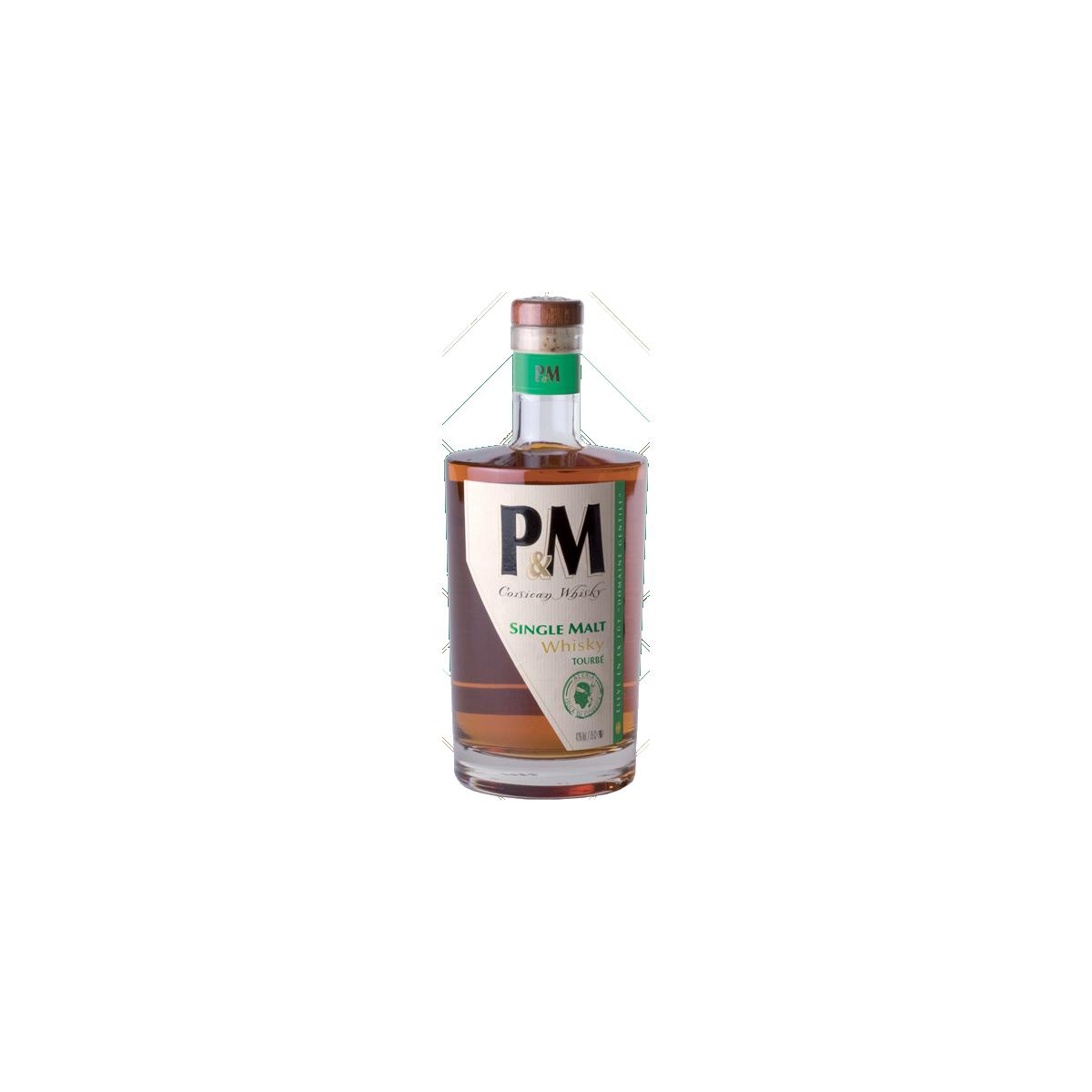 P&M Single Malt Tourbé Whisky 42%