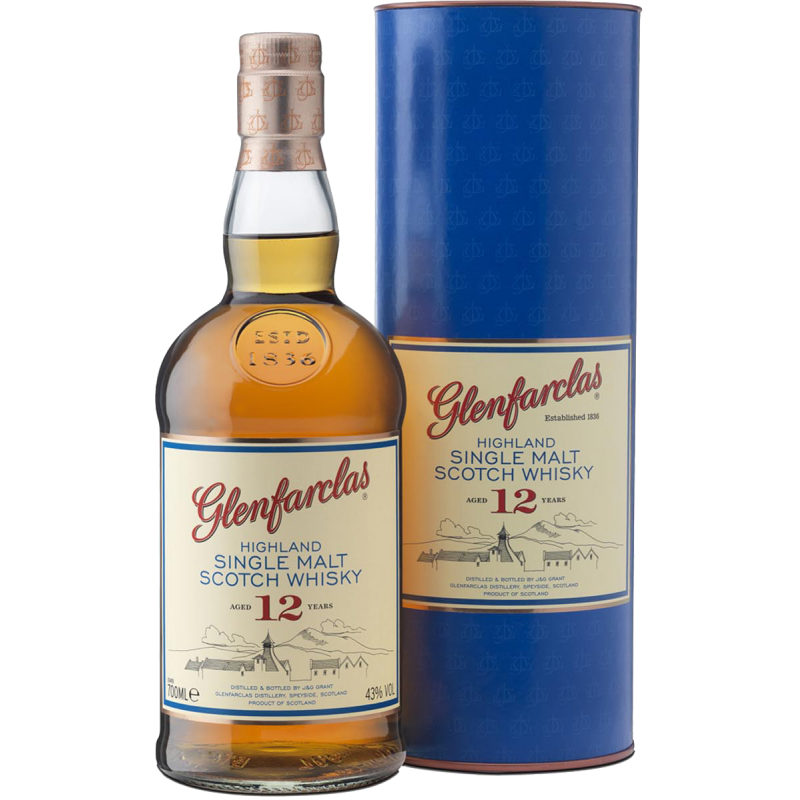 Glenfarclas 12 ans Single Malt Whisky 43 %