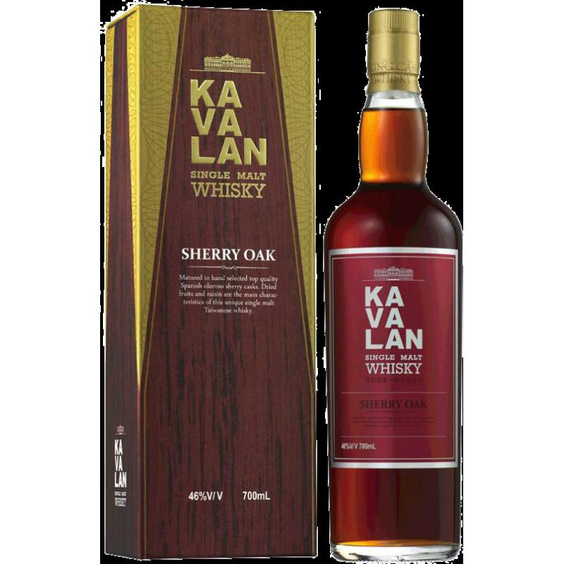 Kavalan Sherry Oak Single Malt Whisky 46 %