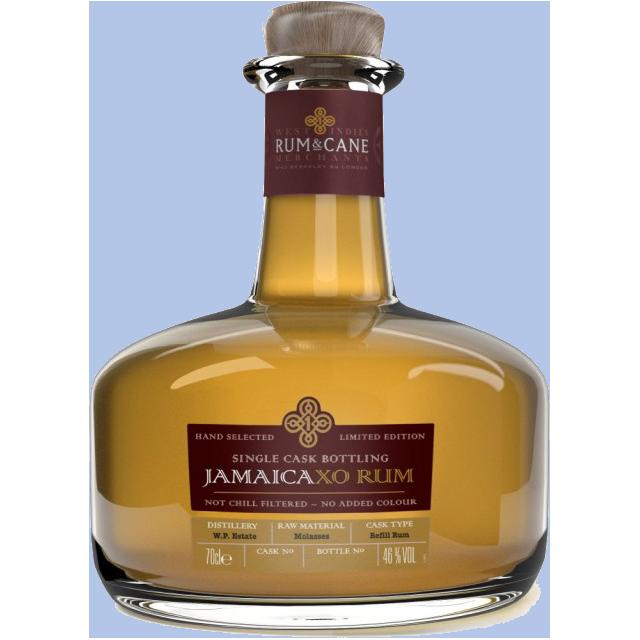 Rum & Cane Jamaica XO Single Cask Rhum 46%
