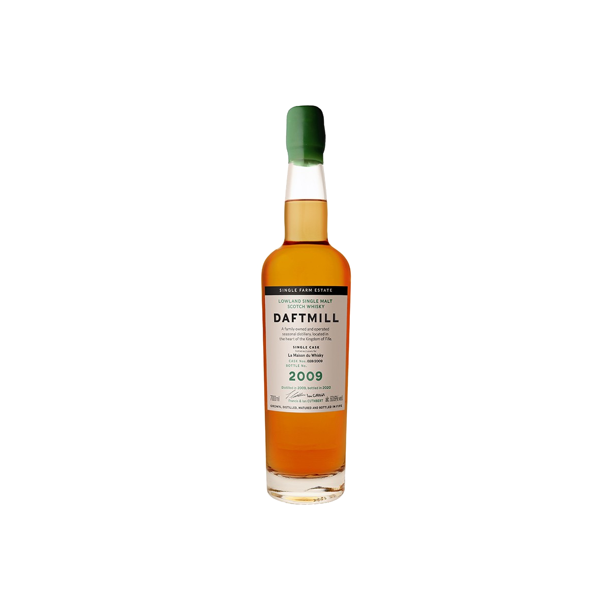 Daftmill 11 ans 2009 French Connections Whisky 60,60 %