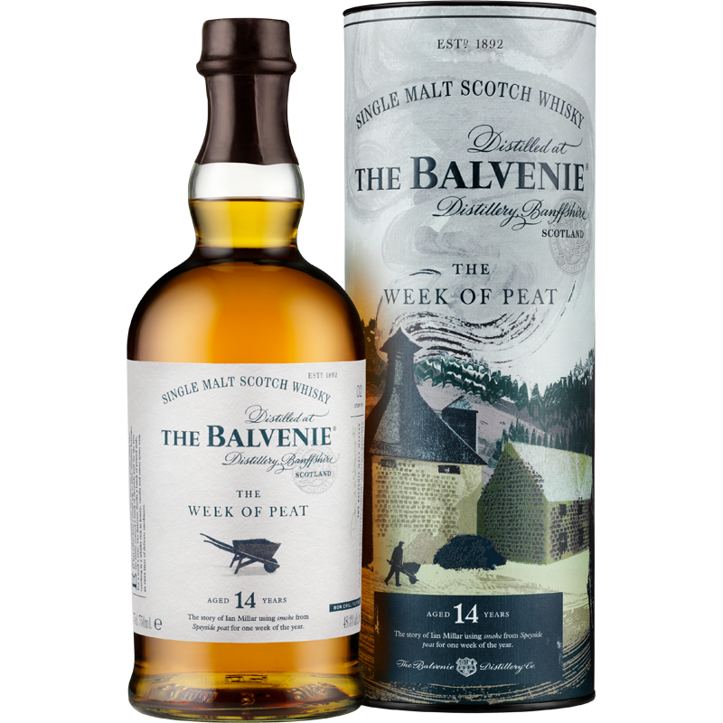 Balvenie The Week of Peat 14 ans Whisky 48,3 %