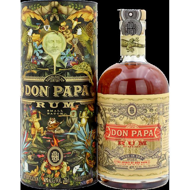 Don Papa 7 ans Édition collector Flora & Fauna Rhum 40%