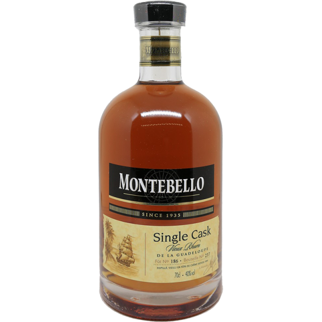 Montebello 12 ans Single Cask 1999 Rhum 40 %