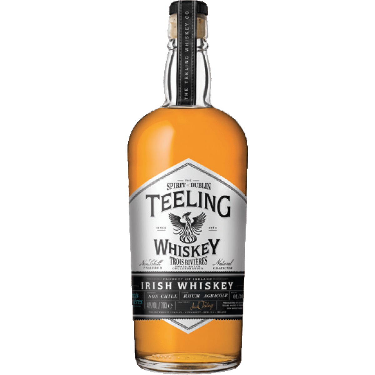 Teeling Small Batch Collaboration Trois Rivières Whiskey 46%
