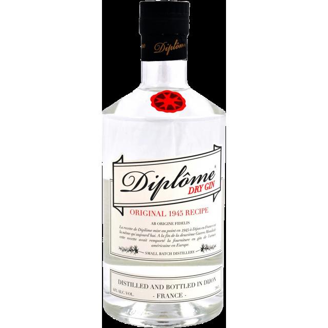 Diplôme Gin 44%
